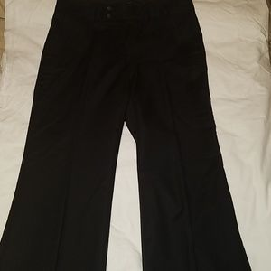 Banana Republic Black wide leg slacks